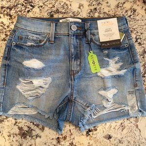Mudd high waisted jean shorts